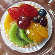Decadent Fruit Tart Poster