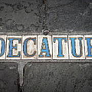 Decatur Poster