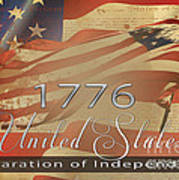 Declaration Of Independence  Poster by Beverly Guilliams