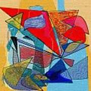 Decorative Interior Art Abstract Poster