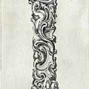 Decorative Letter Type I 1650 Poster