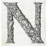Decorative Letter Type N 1650 Poster