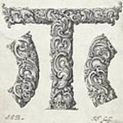 Decorative Letter Type T 1650 Poster