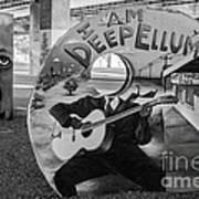 Deep Ellum Dallas Texas Art Poster