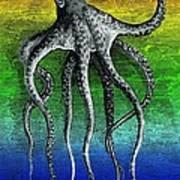 Deep Monster Poster by Eric Edelman