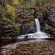 Deer Leap Falls Poster