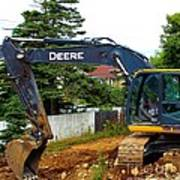 Deere For Hire Poster