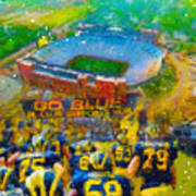 Defending The Big House Poster