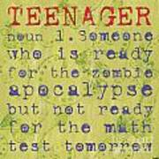 Definition Of Teenagers Poster