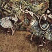 Degas, Edgar 1834-1917. Ballet Scene Poster by Everett