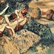 Degas, Edgar 1834-1917. Four Dancers Poster by Everett