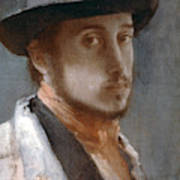 Degas Self-portrait Poster