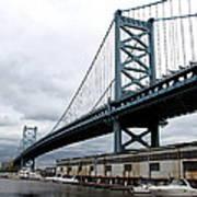 Delaware River Bridge - Philadelphia Poster