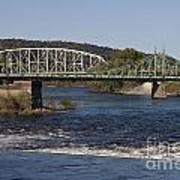 Delaware River Easton Pennsylvania Poster