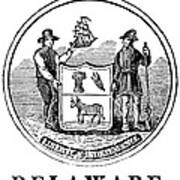 Delaware State Seal Poster