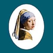 Delft Blue Flip Side Poster