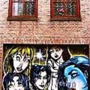 Delft Wall  Poster