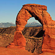 Delicate Arch Poster by Karma Boyer