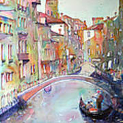 Delight Of Venice Poster