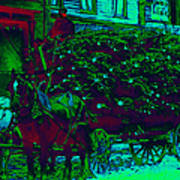 Delivering The Christmas Trees - 20130208 Poster by Wingsdomain Art and Photography