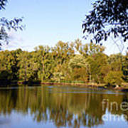 Delta Lake Reflections Poster