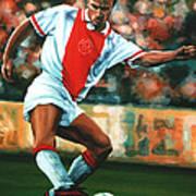 Dennis Bergkamp 2 Poster by Paul Meijering