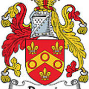 Dennis Coat Of Arms Irish Poster