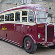 Dennis Lancet Vintage Bus Poster
