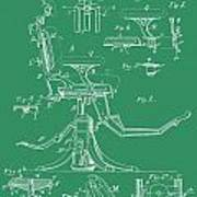 Dental Chair Patent Poster