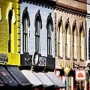 Denver Market Street Tilt Shift Poster