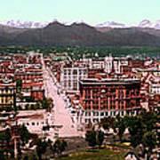 Denver Panorama 1897 Poster