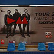 Depech Mode Tour Poster