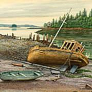 Derelict Boat Poster