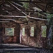 Derelict Building Poster