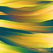 Desert Waves Poster by Hilda Lechuga