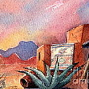 Desert Doorway Poster