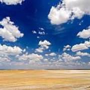 Desert Flatlands Poster