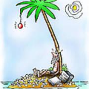 Desert Island Christmas Poster