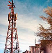 Desert Lighthouse Poster