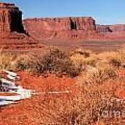 Desert Monuments Poster