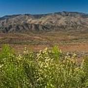 Desert Valley Scene 7 Poster