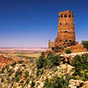 Desert View Watchtower Poster
