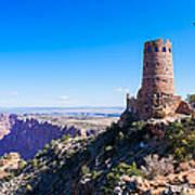 Desert View Watchtower Overlook Poster