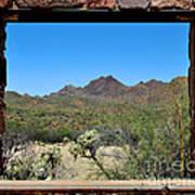 Desert Window Poster