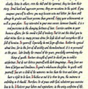 Desiderata Romanesque Poster
