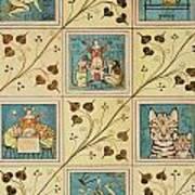 Design For Nursery Wallpaper Poster