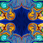 Destiny Unfolding Into An Abstract Pattern Poster
