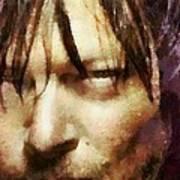 Detail Of Daryl Dixon  Poster