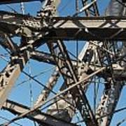 Detail Of Ferris Wheel At Vienna Prater Poster