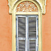 Detailed Window Of Rome Poster